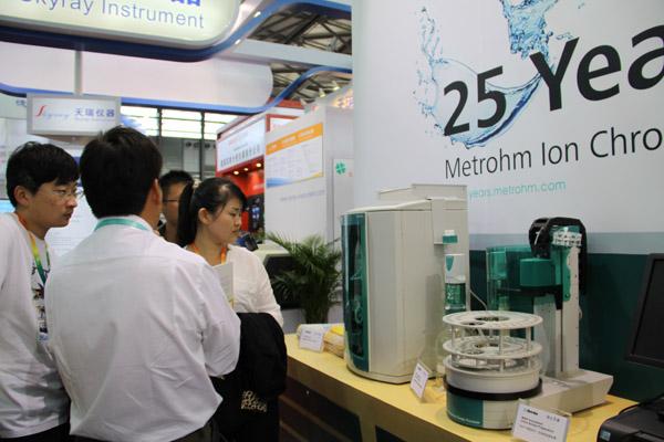 瑞士万通重拳出击携油脂氧化稳定性测定仪亮相慕尼黑上海分析生化展