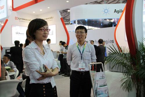 岛津携最新串联质谱仪亮相2012慕尼黑上海分析生化展