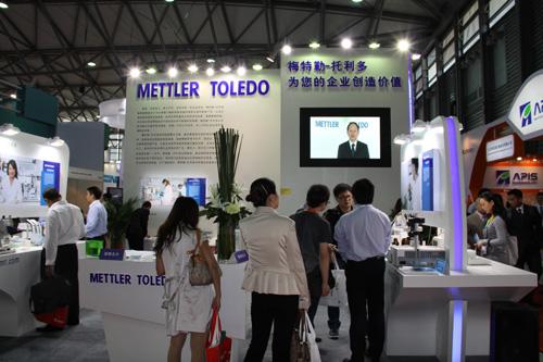 梅特勒-托利多盛装亮相2012慕尼黑上海分析生化展