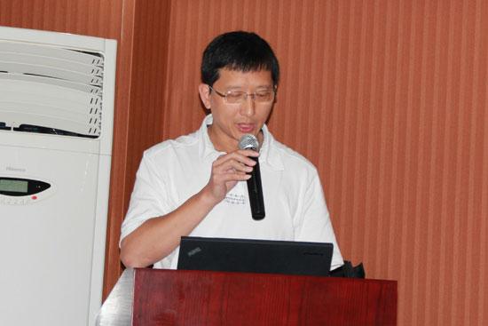 青岛英派斯健康科技有限公司副总裁郑国良致欢迎辞
